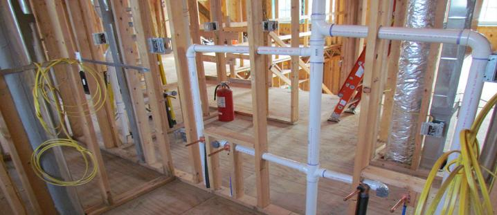 New construction plumbing heating bergen county nj for New construction plumbing rough in